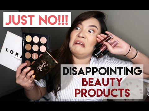DON'T ME!!!! Disappointing Products 2017 | Toni Sia
