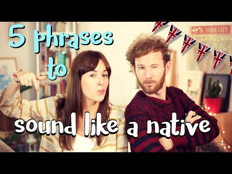 watch SOUND LIKE A NATIVE: 5 expresiones en inglés