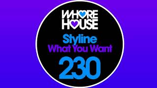 Styline - What You Want [Official Audio]