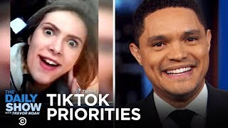 TikTok Recklessness, Team Trump's Food Stamp Cuts & The Rise of Cosmic Crisp Apples | The Daily Show