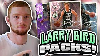 ST. PATRICKS DAY PLUS PACK OPENING! PINK DIAMOND LARRY BIRD!! (NBA 2K18 MYTEAM)