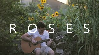 Roses - The Chainsmokers (fingerstyle guitar cover by Peter Gergely)