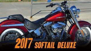 2017 Harley-Davidson® FLSTN - Softail® Deluxe Velocity Red