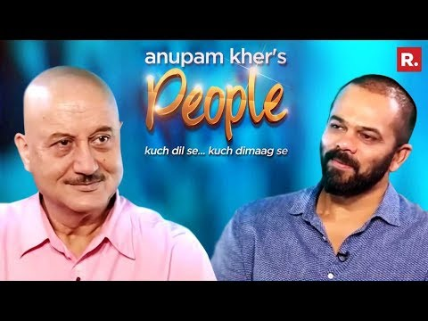 Anupam Kher's 'People' With Rohit Shetty | Exclusive Interview