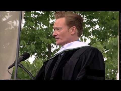 Conan O Brien Delivers Dartmouth s Commencement Address