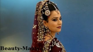 Bridal Makeup - Traditional Look - Complete Hair And Makeup