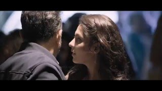 Kamal Hassan Madhu Shalini Hot Lip lock in thoongavanam High Clarity