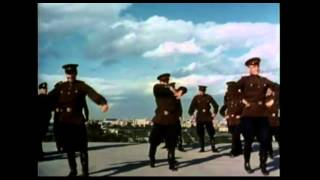Russian Officers Dancing to Indian Music