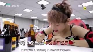 [ENG SUB] 방탄소년단 BTS Jin & V Dress up as girl 2/2