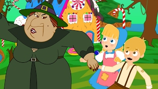 Hansel and Gretel bedtime story for children | Hansel and Gretel songs for kids