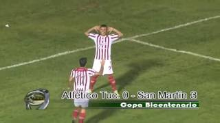 ATLETICO TUCUMAN 0 - SAN MARTIN 3