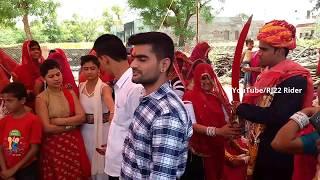 दुल्हे राजा का डांच | Danching With Cousin's | Desi Dhol Thali Rajasthani Dance | Bali Rajasthan