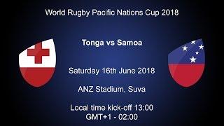 Pacific Nations Cup 2018 - Tonga v Samoa