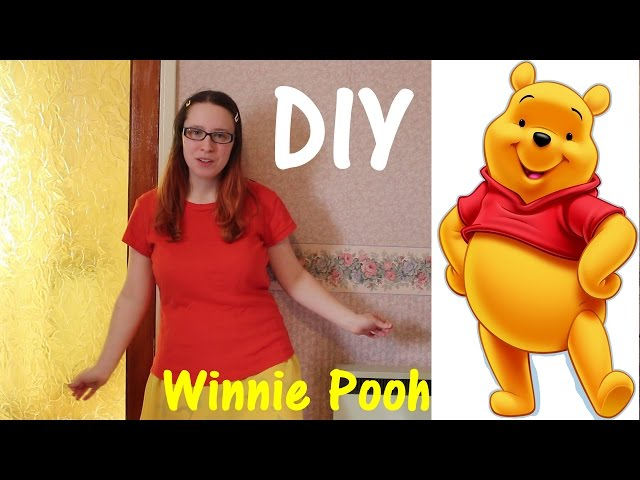 DIY Winnie the Pooh #marchdisneyboundchallenge