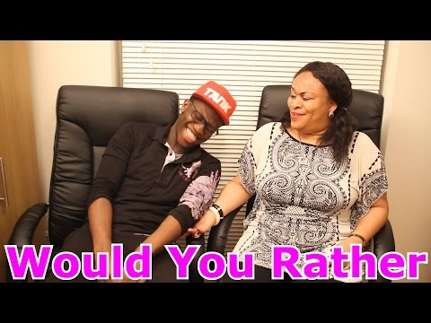 Would You Rather With My Mum