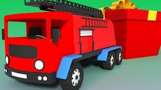 Fire Truck | Unboxing Toys | Cartoon Videos For Toddlers by Kids Channel
