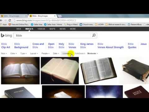 How to Legally download images from Google and Bing