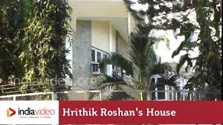 Bollywood Celebrity Home - Hrithik Roshan's House In Mumbai | India Video