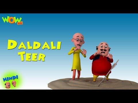 Daldali Teer - Motu Patlu in Hindi WITH ENGLISH, SPANISH & FRENCH SUBTITLES
