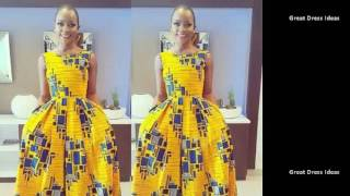 50 African Lovely Dress Styles- ASO,EBI,ANKARA Latest Designs