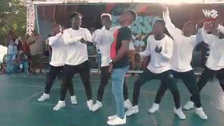 Rich Mavoko Live Performance on Mbosso day at Mwembe Yanga