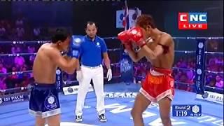 Thon Makara, Cambodia Vs Thanusoeklek, Thai, Khmer Boxing 14 october 2018