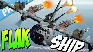 AC-130 FLAKSHIP - New Cancer Of The SKY (War Thunder User Made Mission)