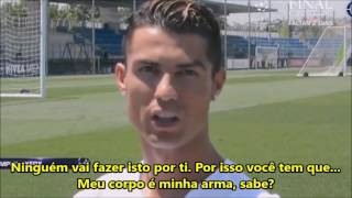 Cristiano Ronaldo dando aula de profissionalismo em 2 minutos!