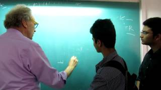 Walter Lewin teaching dotted lines to Indian Students