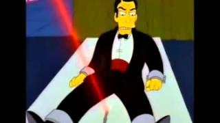 Hank Scorpio & James Bond- Los simpsons audio latino