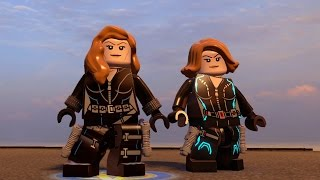 LEGO Marvel's Avengers - Black Widow | Free Roam Gameplay (PC HD) [1080p60FPS]