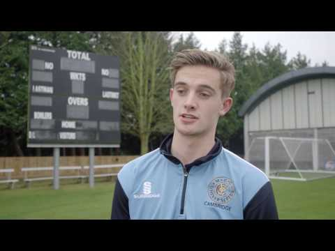 Cricket Scholarships at Anglia Ruskin University