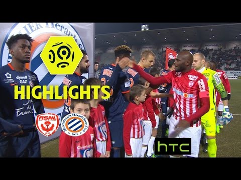 AS Nancy Lorraine - Montpellier Hérault SC (0-3) - Highlights - (ASNL - MHSC) / 2016-17