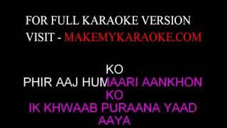 Karaoke Phir Teri Kahani - Dil Diya Dard Liya