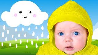 Rain Rain Go Away Song with Little Baby Doll Dasha | Nursery Rhymes