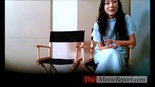 Natasha Liu Bordizzo talks CROUCHING TIGER HIDDEN DRAGON SWORD OF DESTINY, February 22, 2016