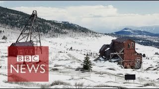 The ghosts of a gold rush town - BBC News