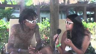 Wiz Khalifa Talks KK Kush: