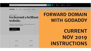 STEP BY STEP INSTRUCTIONS: How to forward GoDaddy domain name to another domain, website or webpage