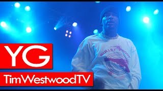 YG says free 6IX9INE. Brazy show in London, brings out Ty Dolla $ign - Westwood