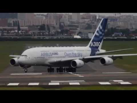 Unbelievable Airbus A380 vertical Take off + Amazing Air Show  HD  Paris Air show 2013 BestAvailable