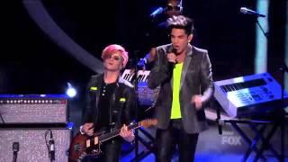 Adam Lambert  Never Close Our Eyes   Top 3 Results   AMERICAN IDOL SEASON 11
