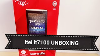 itel it7100 UNBOXING