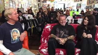 On the Couch with Dr. Strange with Rikk Agnew and Gitane DeMone from Christian Death