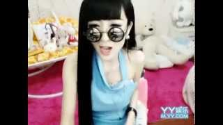 Super sexy Chinese YY girl raps