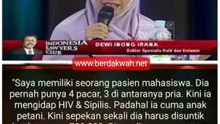 Bahaya nyata penyimpangan perilaku seksual diungkap dr. Dewi Inong Irana, spKK