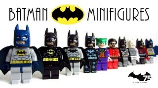 LEGO Batman The Dark Knight KnockOff Minifigures with Joker and Robin