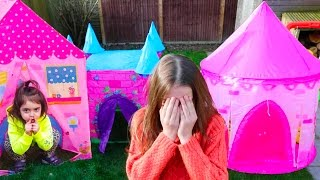 Hide and seek  Baby Emily PlayHouse Tent