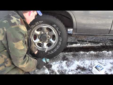 Poorman tire chains 2.mp4