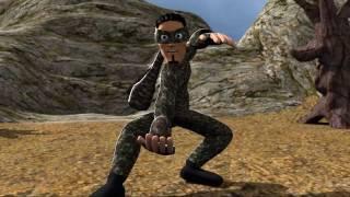 Camou short 3D animation movie (Blender)